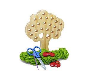 Alinhavo Madeira Árvore Macieira (3 anos+)