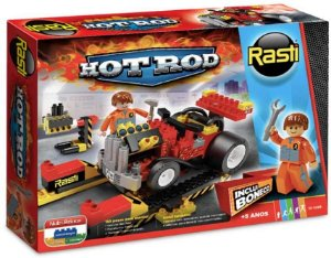 Rasti Hot Rod 185 peças