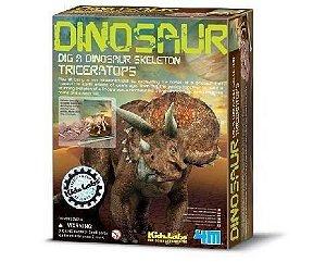 Kit Escavação de Dinossauro - Triceraptor
