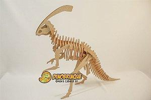 Parasaurolophus 38 peças - Quebra Cabeça 3D