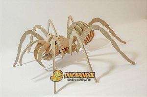 Aranha Quebra Cabeça 3D - 28 Peças (6 anos+)