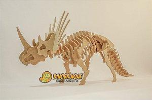 Estiracossauro Quebra cabeça 3D - 41 Peças