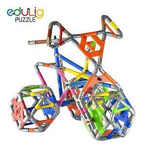 Quebra-cabeça  Triciclo - 120 peças