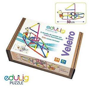 Quebra-cabeça  3D Veleiro - 54 peças