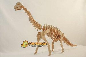 Dinossauro GIgantesco Braquiossauro 51 Peças Quebra Cabeça 3D (6 anos+)