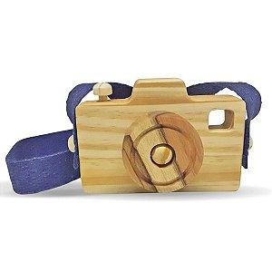 Câmera fotográfica Lúdica Alça Marinho (3 anos+)