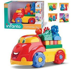 Caminhão com blocos - Zoo