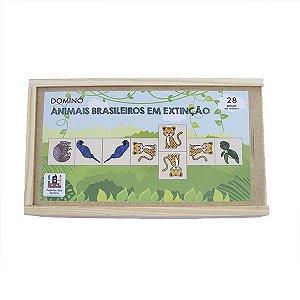 Dominó Animais brasileiro em extinção (3 anos+)