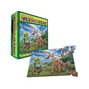 Quebra-cabeça - Dinossauros (3 anos+)