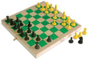 Xadrez com estojo (5 anos+)