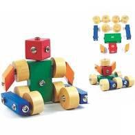 Brinquedo Madeira Click Formas - Mod 01   (3 anos+)