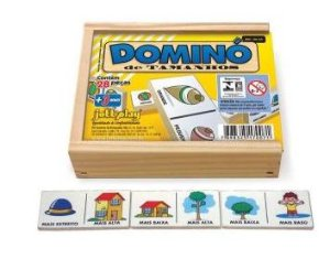Dominó - Tamanhos