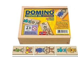 Dominó - Figura de animais ( 3 anos+)