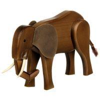 Elefante Articulado em Madeira