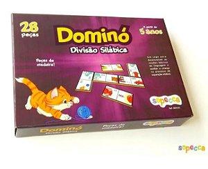 Dominó - divisão silábica (5 anos+)