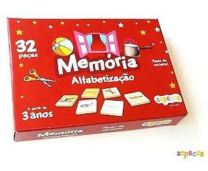 Jogo da memória - alfabetização
