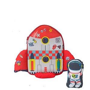 Mochila baby  Foguete (Primeira Infância)