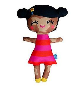Boneca - Aninha vitiligo (Todas as idades)