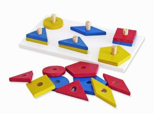 Prancha com Formas Geométricas