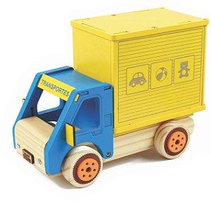 Coleção Carrinhos: Caminhão Baú