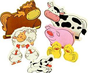 Coleção Fazendinha Animais da Fazenda