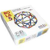 Quebra-cabeça Puzzle 3D Bola 5 - 90 peças e conexões - 6 cores
