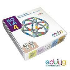 Puzzle 3D Bola 4 - 36 peças e conexões (10 anos+)