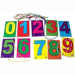Alinhavo Infantil Números (3 anos+)