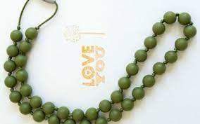 Colar pega pega cor: oliva