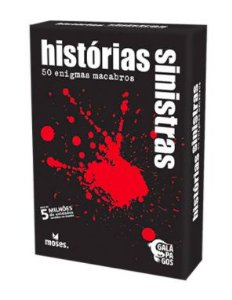 Board Game Black Stories  (12 anos+)