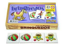 Jogo da Memória Brinquedos (3 anos=)