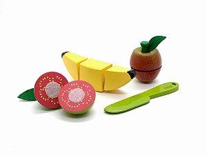 Kit Frutinhas: Banana, Goiaba e Maçã (3 anos+)