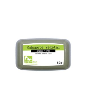 Sabonete Barra Argila Verde Dermare