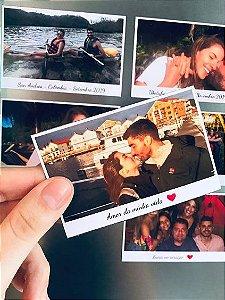 20 Fotos Magnéticas Polaroid 6x9