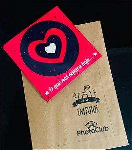 Cartão O Que Nos Separa é o Amor