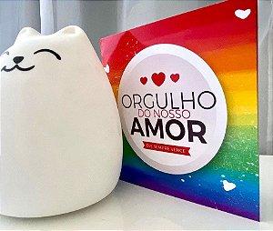 Cartão Orgulho do Nosso Amor