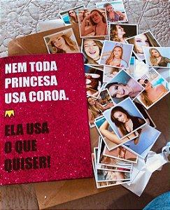 Álbum de Figurinhas Nem Toda Princesa
