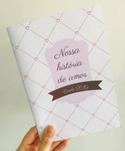 Álbum de Figurinhas Nossa História de Amor