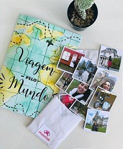 Álbum de Figurinhas Viagem Pelo Mundo