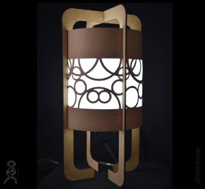 Luminária de mesa Zane Nuveau