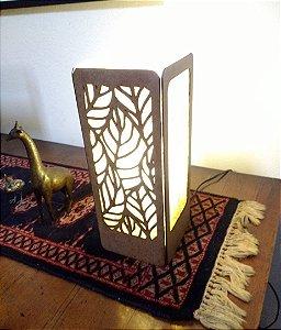 Luminária de mesa Luv