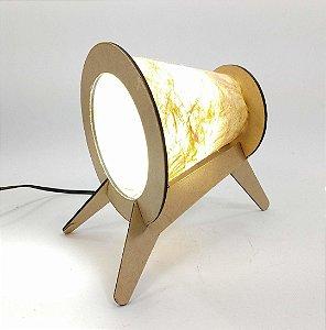 Luminária de mesa Valokeila