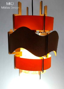 Luminária pendente Imani