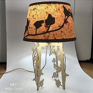 Luminária de mesa Nuveau