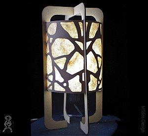 Luminária de mesa Zane Rorschach