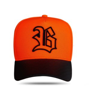 Boné Snapback Perfored Orange Fluor