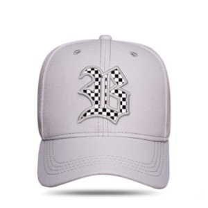 Boné Strapback Race Grey