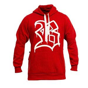 Blusa Moletom Blck Logo Red