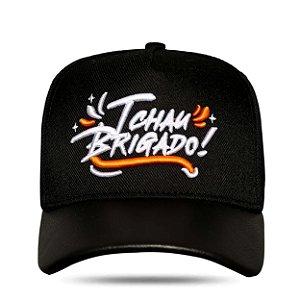 Boné Snapback Tchau Brigado Preto