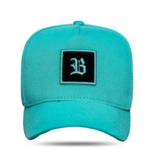 Boné Strapback Square Green Water